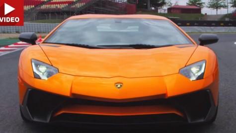 Lamborghini Aventador SV, dus la limită de Steve Sutcliffe
