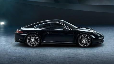 Noi imagini cu Porsche 911 și Boxster Black Edition
