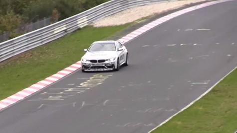 BMW M4 GTS filmat în teste pe Nurburgring