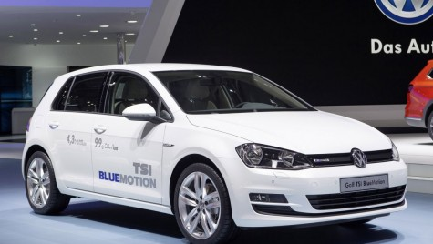 Un nou motor TSI de 1 litru şi 115 CP pentru VW Golf
