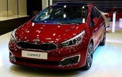 Prima imagine neoficială cu Kia cee'd facelift