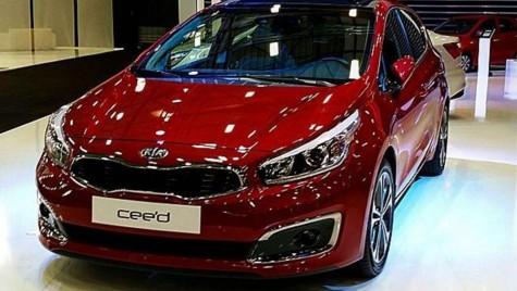 Prima imagine neoficială cu Kia cee'd facelift