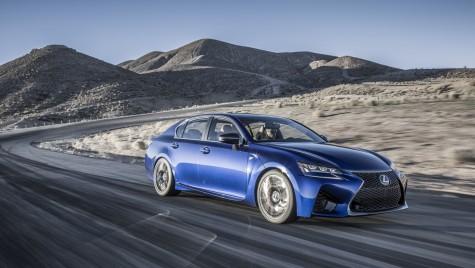 Lexus GS F va debuta în Europa la Goodwood