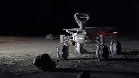Un rover cu însemnele Audi pe el va ajunge pe Lună