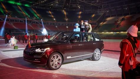 Range Rover hibrid special pentru Regina Marii Britanii