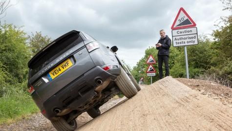 Range Rover Sport controlat din telefonul mobil