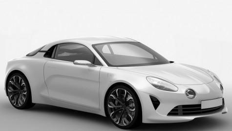 Așa o să arate noua mașină sport Renault Alpine