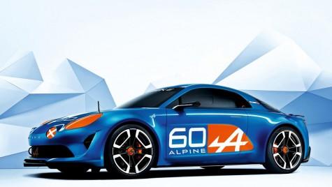 Conceptul Renault Alpine Celebration prezentat la Le Mans