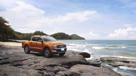Ford Ranger facelift, acum şi în versiune Wildtrak