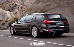 BMW M7 și Seria 7 Touring imaginate de X-Tomi Design