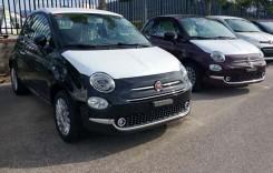Primele imagini cu Fiat 500 facelift