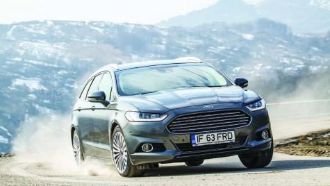 Test Ford Mondeo Wagon – Mai târziu e mai bine