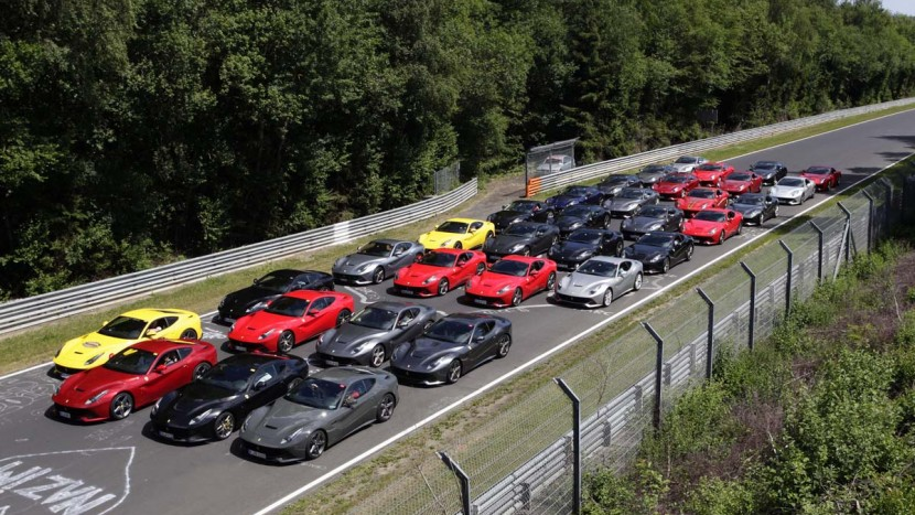 Intalnire Ferrari F12 Berlinetta - Nurburgring - AutoExpert