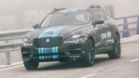 Noul SUV Jaguar F-Pace debutează în Turul Franţei