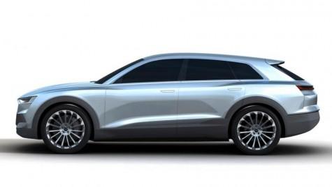Conceptul C-BEV anunţă viitorul SUV coupe Audi Q6