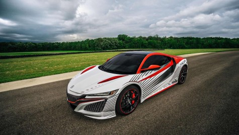 Video: Honda NSX a fost pace car la Pikes Peak