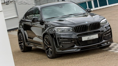 Lumma Design creează cel mai agresiv BMW X6