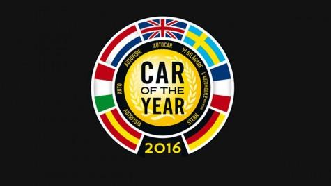 Lista maşinilor nominalizate la titlul Maşina Anului 2016 în Europa