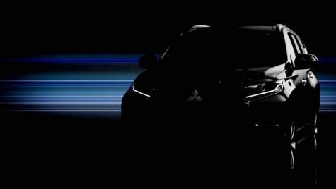 Teaser cu noul Mitsubishi Pajero Sport
