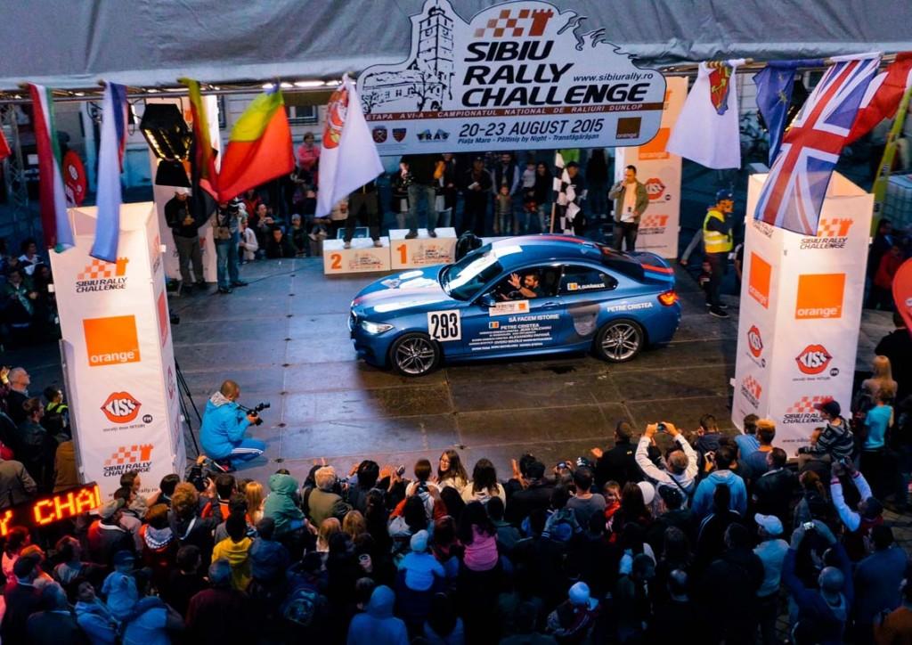 AutoExpert si BMW Romania la Sibiu Rally Challenge 2015