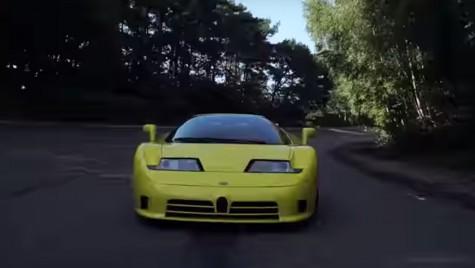 Tributul unui Bugatti special