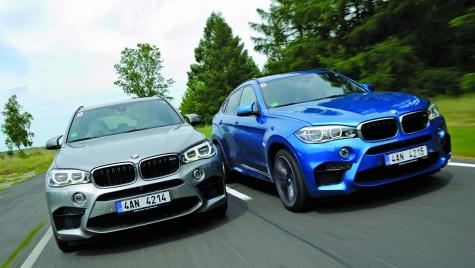 Test BMW X5M şi BMW X6M – Și SUV-urile fac sport