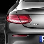 Mercedes-Benz C-Klasse Coupé C 300, Selenit Grau, Leder Cranber