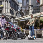 Test mobilitate AutoExpert Twizy - Nine Bot - BMW Bike