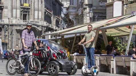 Test de mobilitate – Nici călare, nici pe jos