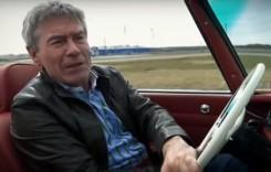 Tiff Needell a filmat un reportaj pentru Fifth Gear la Oldtimer Studio, în Bucureşti