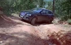 Bentley ni-l arată pe Bentayga în off-road