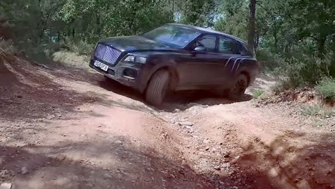 Bentley ni-l arată pe Bentayga în off-road