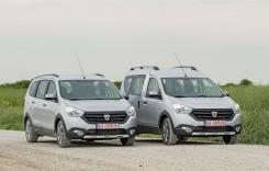 TEST Noua gamă Dacia Stepway, Dokker şi Lodgy – Crossover Mania