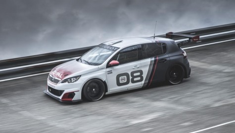 Peugeot 308 Racing Cup – 1,6 Turbo si 308 CP