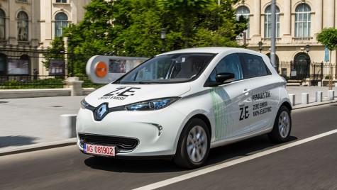 TEST Renault Zoe, pionierul maşinilor electrice accesibile
