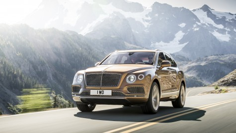 Bentley Bentayga sau cum arată un SUV de 600 CP