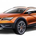 SEAT Leon Cross Sport Sketches