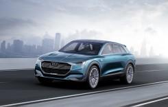 Audi e-tron quattro concept: full electric și sportiv