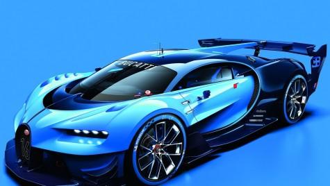 Bugatti Vision Gran Turismo, din PlayStation direct la Frankfurt