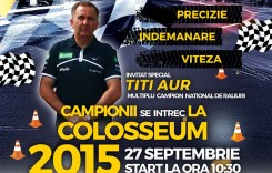 Finala Campionatului Naţional de Îndemânare Auto 2015