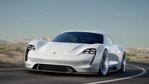 Porsche Mission E – surpriza de 600 CP de la Frankfurt
