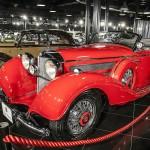 Doar 83 de unităţi Mercedes-Benz 540 K Cabrio- let  A au fost produse de-a lungul timpului, cea prezentă în Ţiriac Collection văzând lumina zilei în 1937.