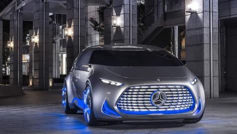 Mercedes-Benz Vision Tokyo: un OZN printre pământeni