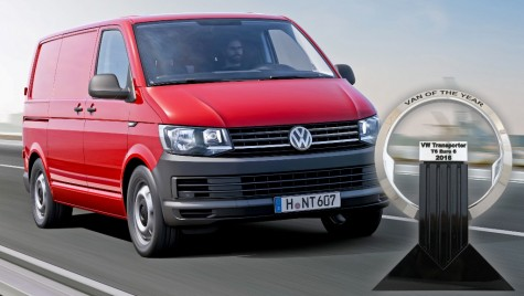 Volkswagen Transporter T6 este International Van of the Year 2016
