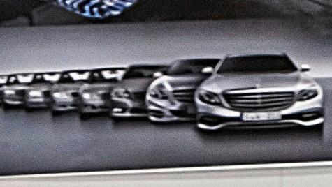 Noul Mercedes E-Class deconspirat de desene oficiale