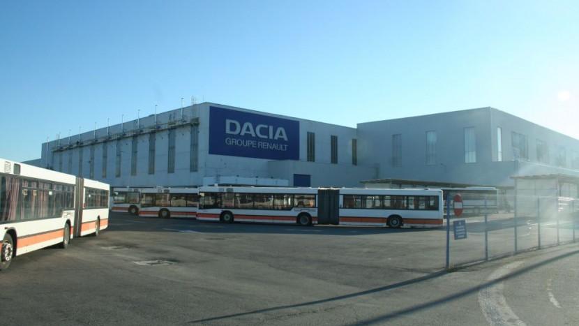 vizita uzina Dacia 2015