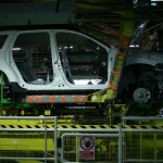 montaj final uzina Dacia