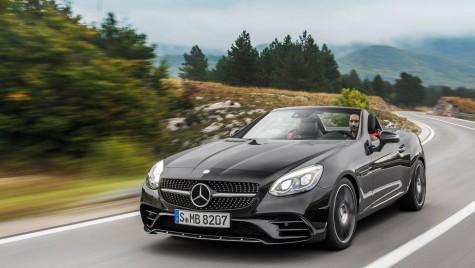 Mercedes-Benz SLC – facelift amplu pentru roadsterul SLK