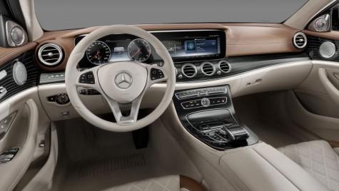Noul Mercedes E-Class – toate secretele interiorului