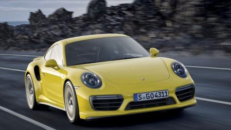 Porsche 911 facelift, acum şi în straie Turbo şi Turbo S